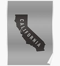 California - My home state Poster
