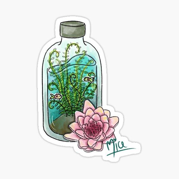 Water Plant Sticker