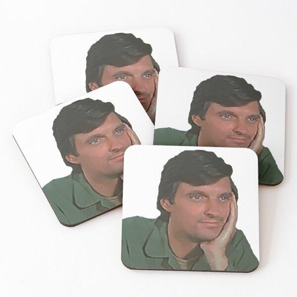 Hawkeye Pierce Coasters (Set of 4)
