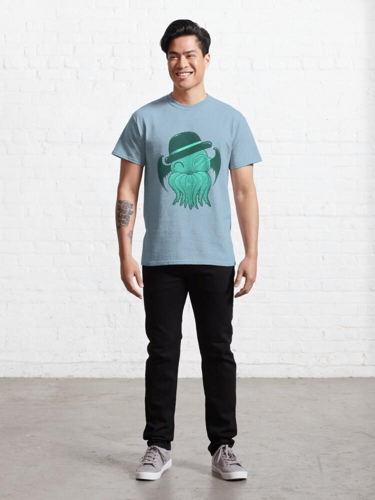 Alternate view of Gentelman cthulhu Classic T-Shirt