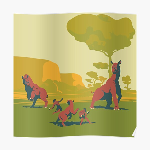 Sunny day. Indricotherium Poster