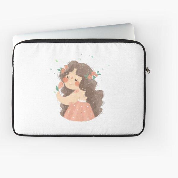 Roses girl Laptop Sleeve