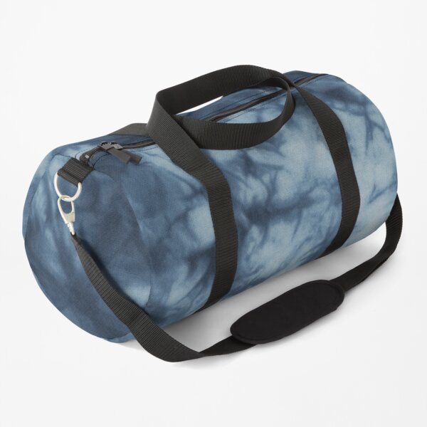 Sexy Dark Blue Boho Tie Dye Pattern Duffle Bag