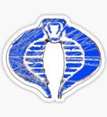 Cobra ice logo Sticker