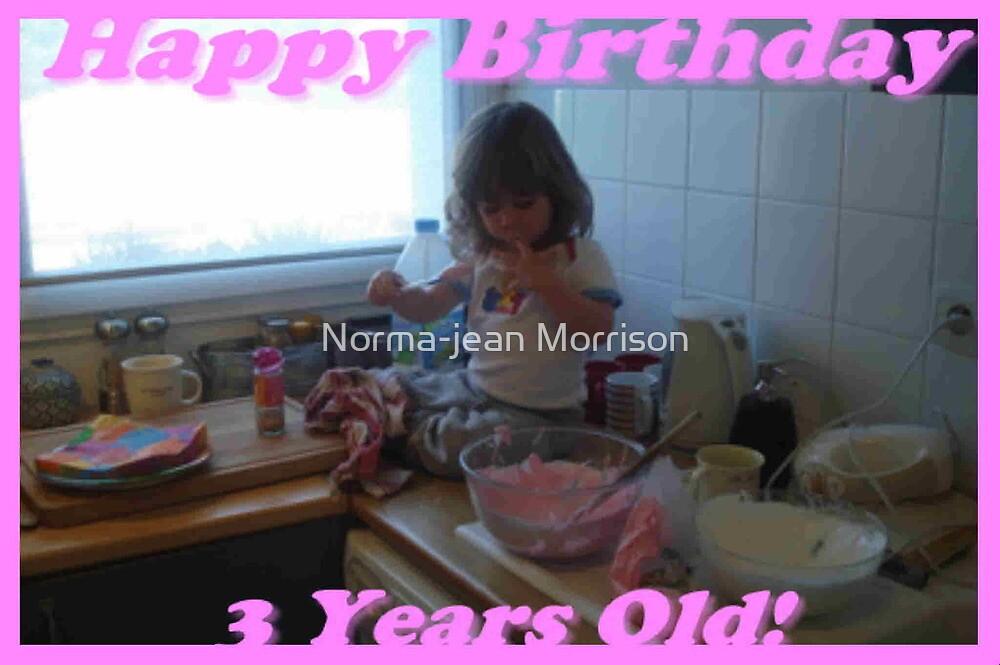 """""""Happy Birthday Lauren"""" by Norma-jean Morrison"""