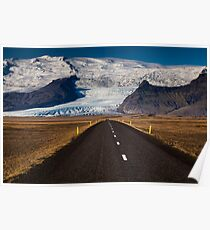 Rush Hour, Route One, Iceland Poster