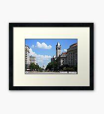 Downtown Washington Framed Print