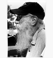 Full Beard And Cap  Poster