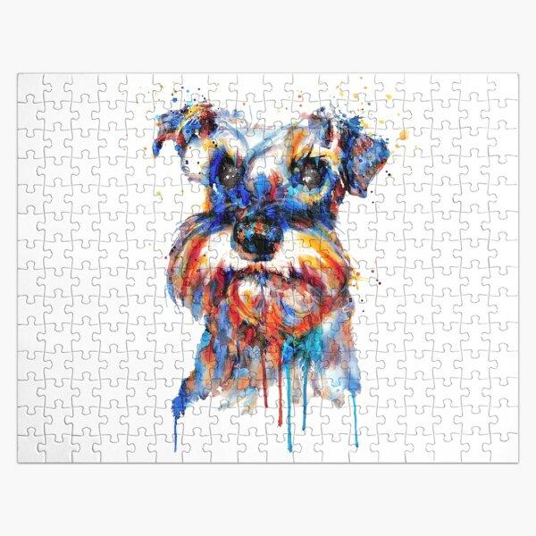 Schnauzer Head Jigsaw Puzzle