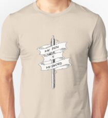 My Pen Is My Sword Unisex T-Shirt