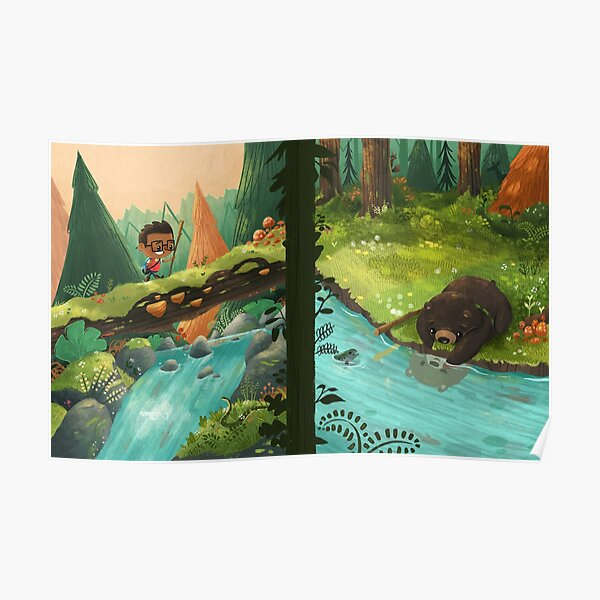 Explorers of the Wild - Boy and Bear Poster