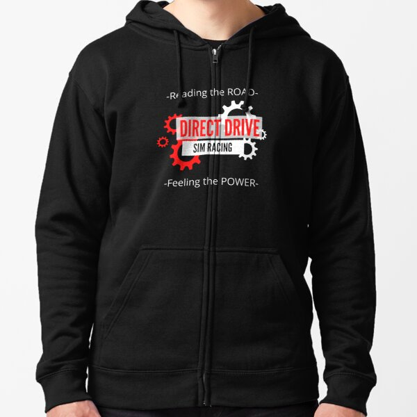 DIRECT DRIVE SIM RACING- SIMRACING Zipped Hoodie