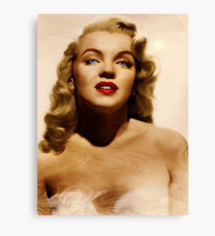Believing Norma Jean Canvas Print