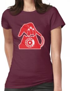 Telephone - Hand Gestures Womens Fitted T-Shirt