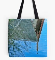 Fuzzy Reflection Tote Bag