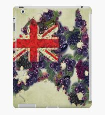 Australian Flag Map Fruits And Vegetables iPad Case/Skin