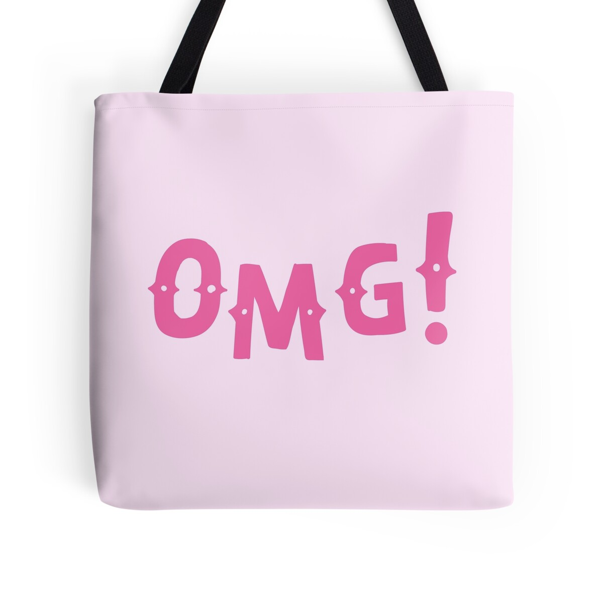 Wall Stickers Perth Quot O M G Omg In Pink Quot Tote Bags By Jazzydevil Redbubble