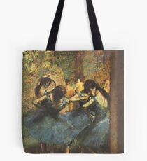 Edgar Degas French Impressionism Oil Painting Ballerina Tote Bag