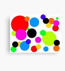 Tamsins Dots Canvas Print