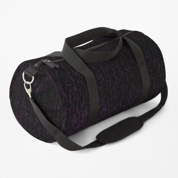 Abstract black-violet background. Duffle Bag