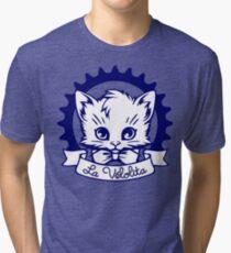 La Velolita (blue) Tri-blend T-Shirt