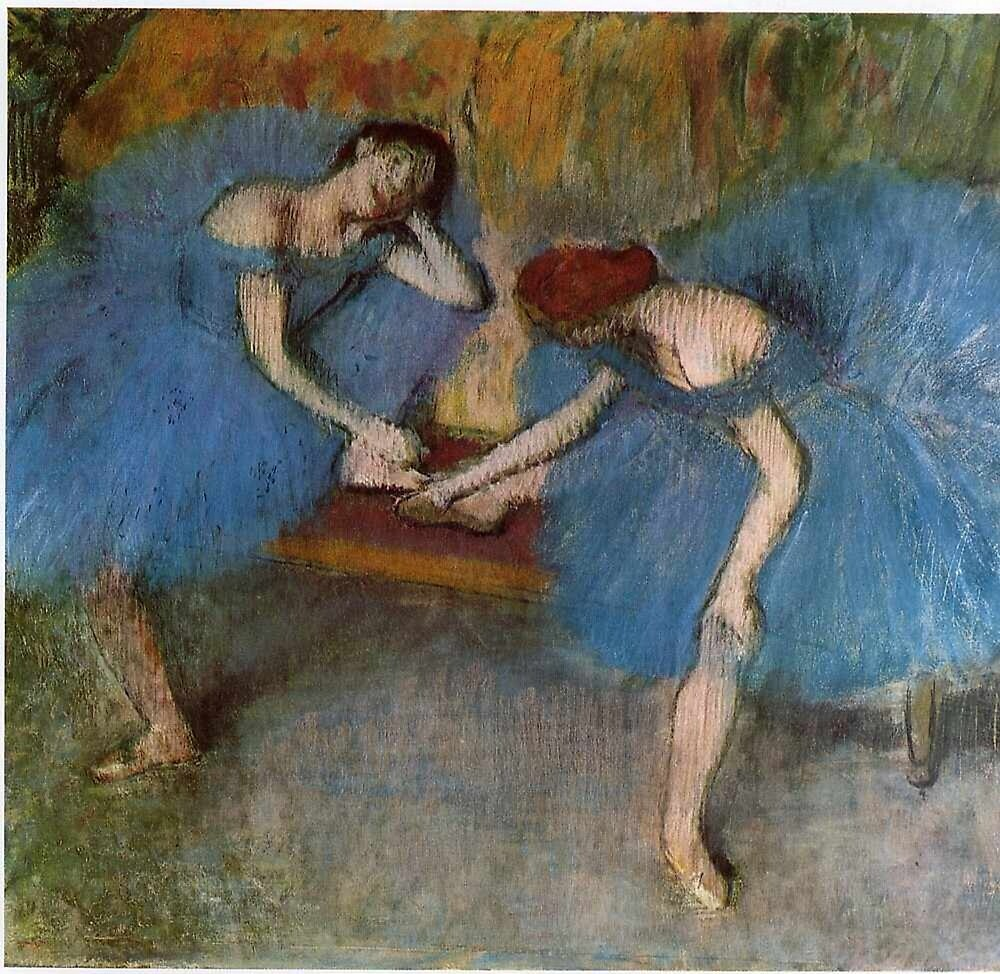 quotedgar degas french impressionism oil painting dancersquot by