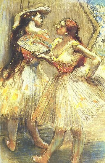Quot Edgar Degas French Impressionism Oil Painting Ballerinas