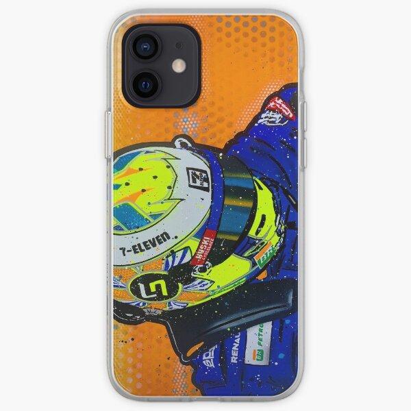 Lando Norris 2019 - McLaren graffiti painting by DRAutoArt iPhone Soft Case