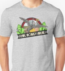 Wizard of Oz Inspired - Flying Monkey Airlines - Flying Monkeys - Airline Parody Design - OZ  T-Shirt