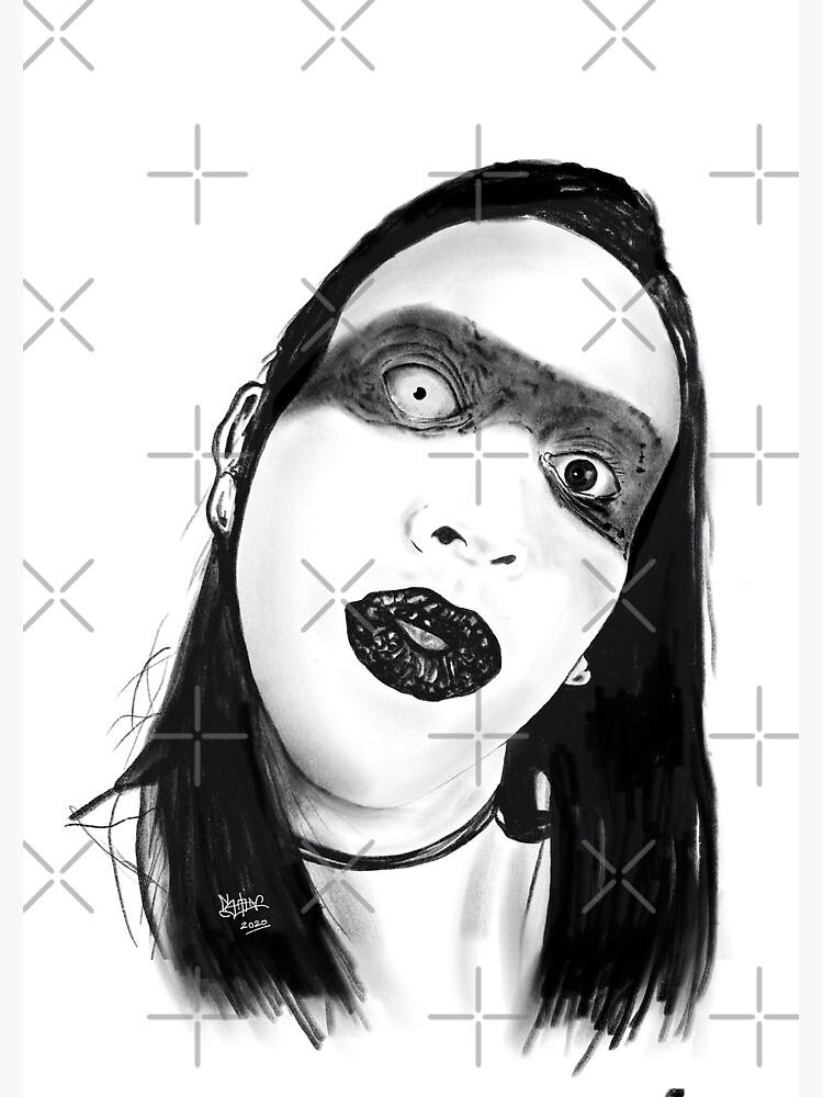 Marilyn Manson by artslaves