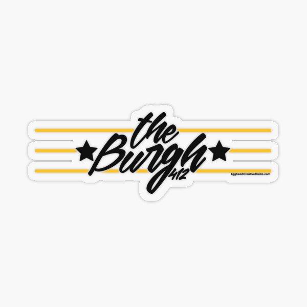 The Burgh Transparent Sticker