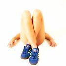 blue shoes by paul hilton
