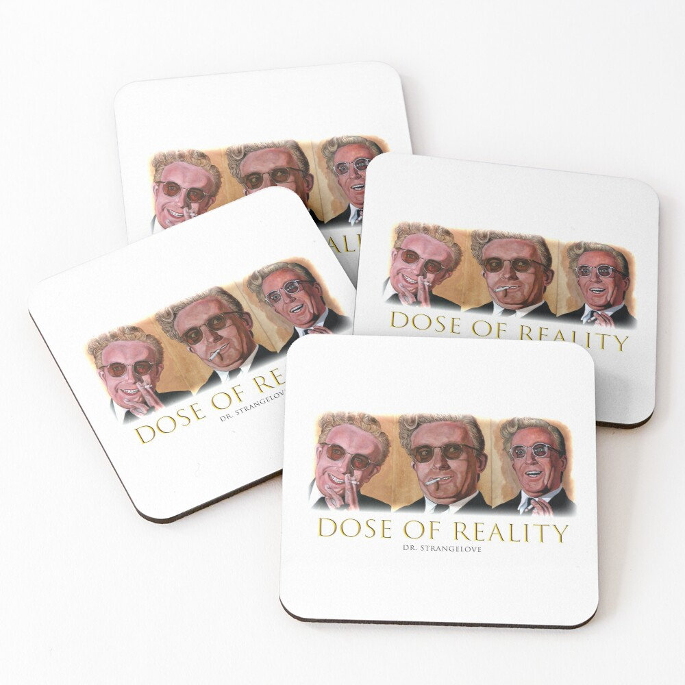 Dose of Reality Coasters (Set of 4)