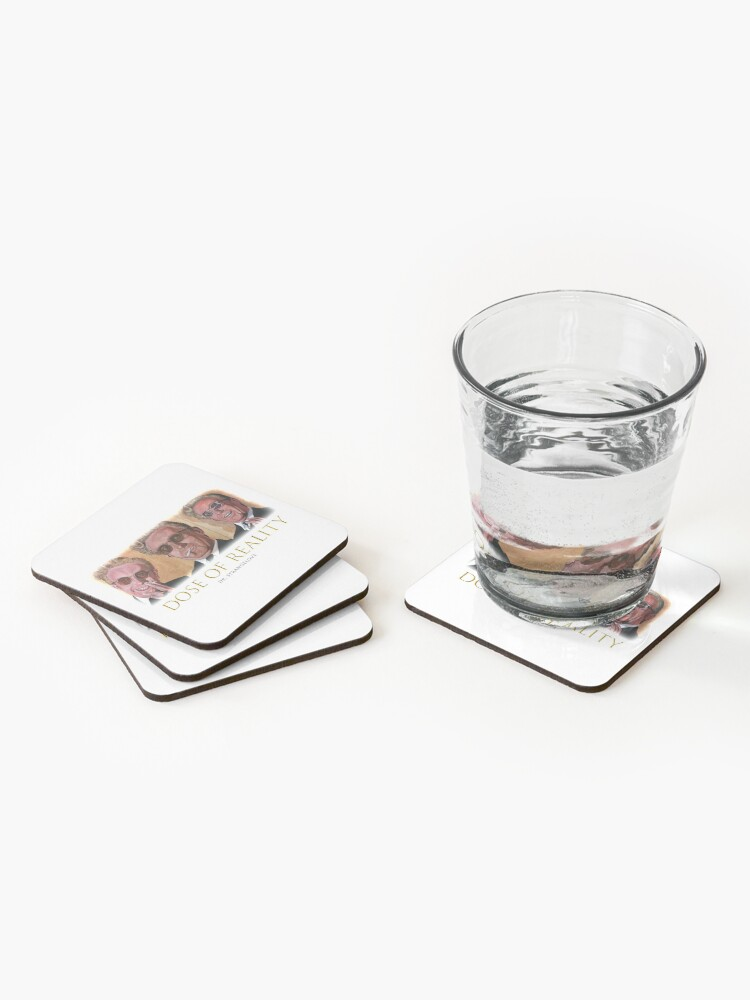 Alternate view of Dose of Reality Coasters (Set of 4)