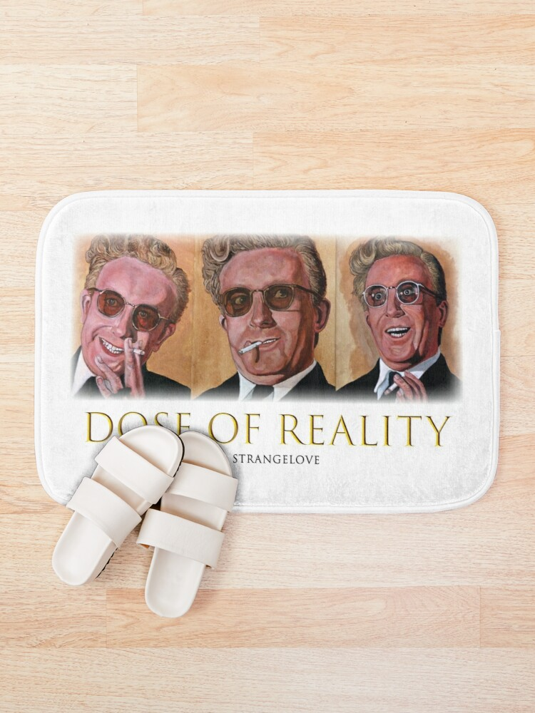 Alternate view of Dose of Reality Bath Mat