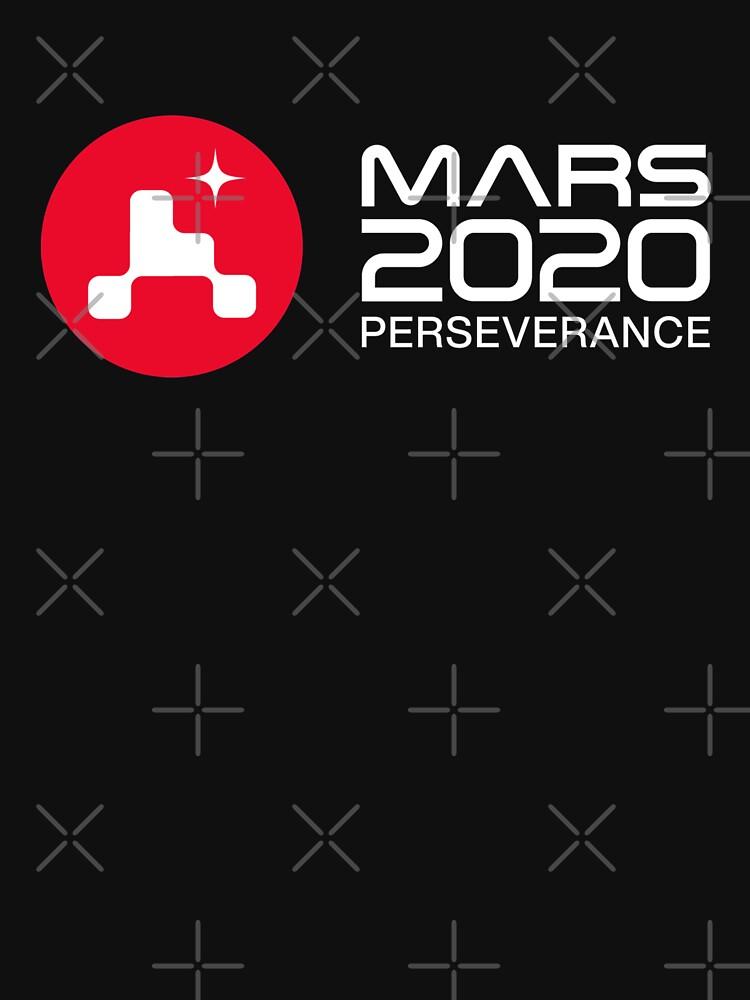 Mars 2020 Perseverance Rover HQ logo by Vanksy-