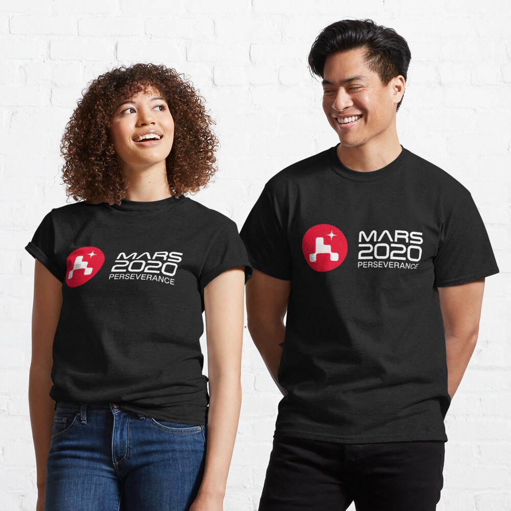 Mars 2020 Perseverance Rover HQ logo Classic T-Shirt