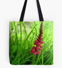 Lonely Red Flower Tote Bag