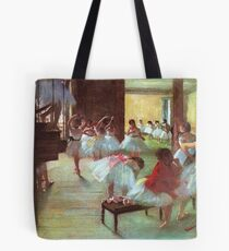 Edgar Degas French Impressionism Oil Painting Dance School Tote Bag