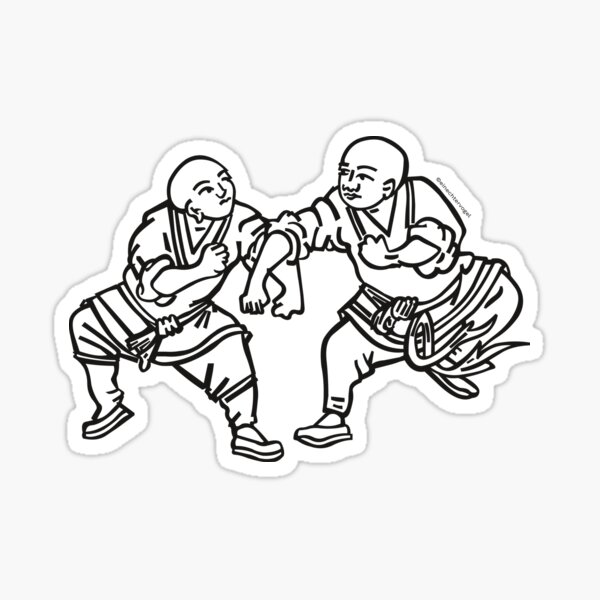 Wushu, martial arts Sticker