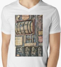 Steampunk Brewery Men's V-Neck T-Shirt