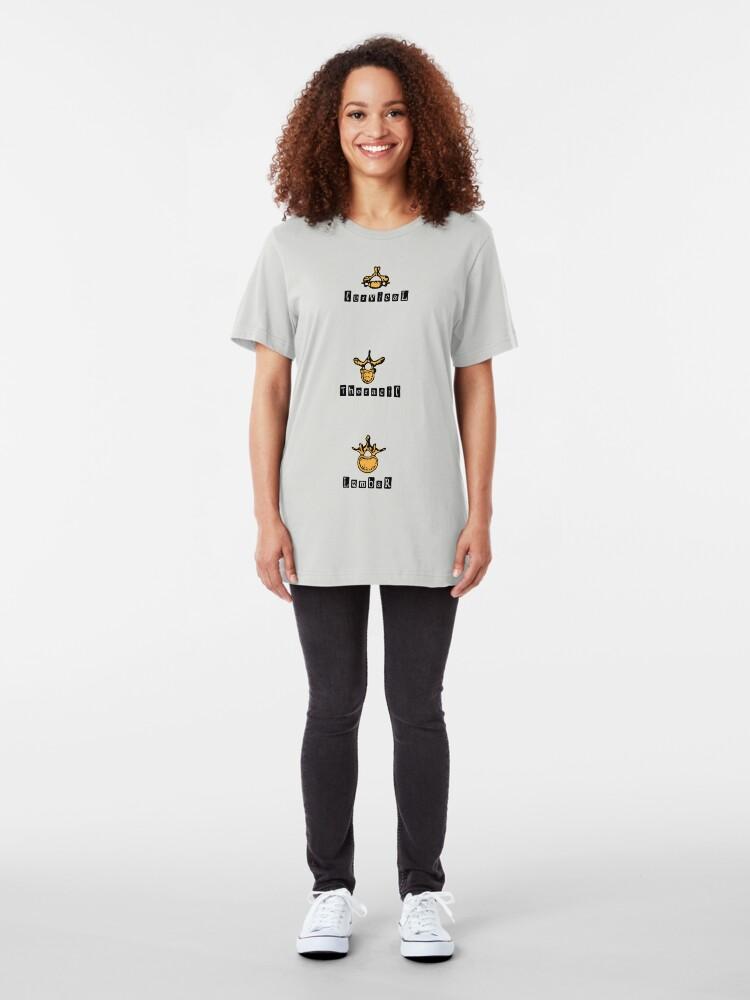 Alternate view of Vertebra Slim Fit T-Shirt