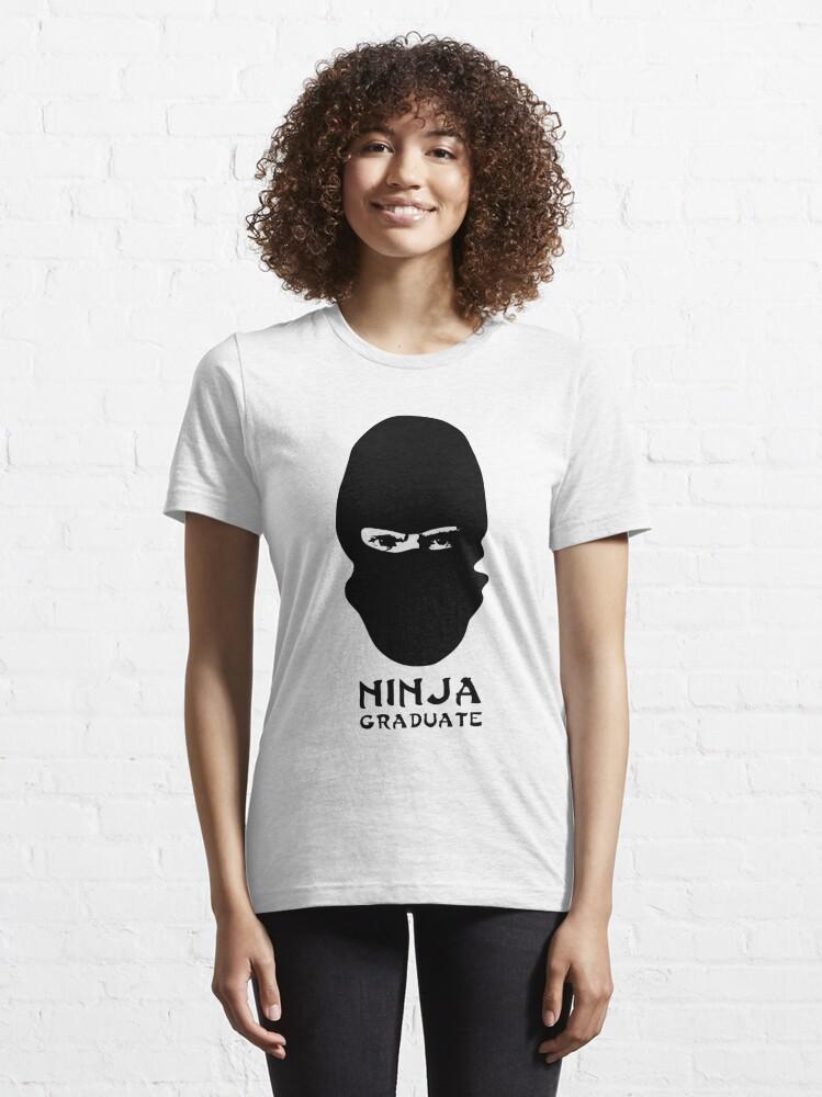 Alternate view of Ninja Graduate Essential T-Shirt
