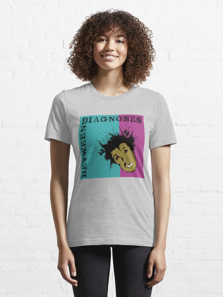 Alternate view of Between Diagnoses Essential T-Shirt
