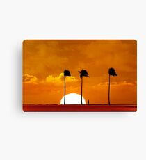 6:17 PM Hawaii Time Canvas Print