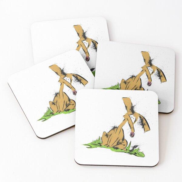 En knottig liten hund  Coasters (Set of 4)