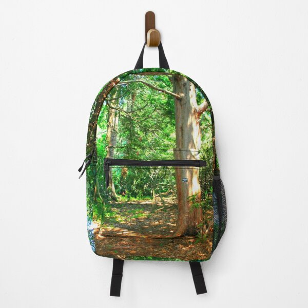 Hiking Path and Trees, Wooded Trail Backpack