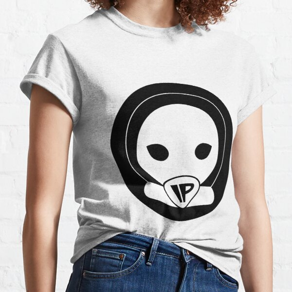 Alien Head Black Logo Classic T-Shirt