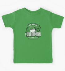 Pokemon League Champion Kids Tee