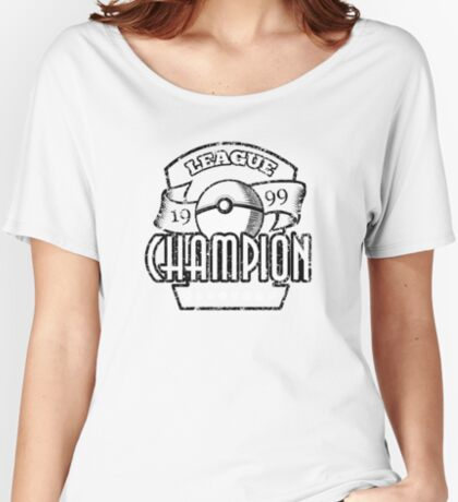 Pokemon League Champion Women's Relaxed Fit T-Shirt